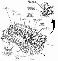 5 7 liter chevy engine diagram automotive parts diagram images
