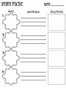 spelling practice sheets spelling practice spelling homework spelling word practice