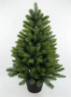 weihnachtsbaum kunststoff edel tannenbaum luxus iii 92cm ga k 252 nstlicher