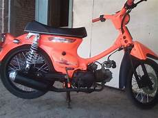 C70 Modifikasi by Modifikasi Honda C70 Pati Curan Otomotif