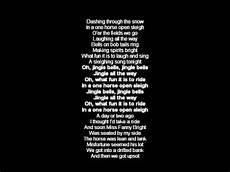jingle bells swing and jingle bells ring jingle bells karaoke with lyrics carol backing