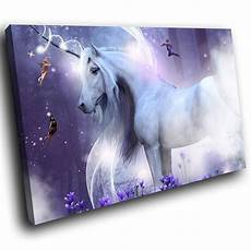 any color large unicorn wall purple unicorn funky animal canvas wall large