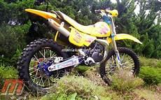Suzuki Ts Modif by Modifikasi Motor Suzuki Ts Semakin Trail Portal Sepeda