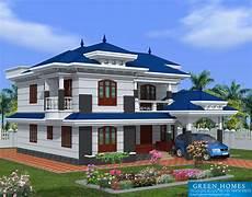 beautiful kerala house plans green homes beautiful kerala home design 2222sq feet