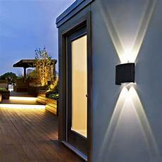 4 6 8w modern ip65 sconce outdoor led wall fixtures l garden corridor lights ebay