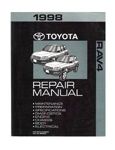small engine service manuals 1998 toyota camry regenerative braking 1998 toyota rav4 factory service manual