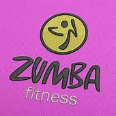 Stickmuster Zumba Fitness Logo