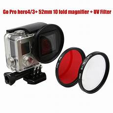 52mm Magnifier Macro Lens Gopro by For Gopro Accessories 52mm Magnifier 10x Magnification