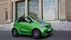 emissionsfreie sonnenanbetung smart e drive cabrio