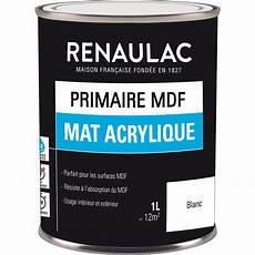 primaire mdf renaulac mat acrylique toolstation