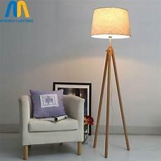 modern led beautiful wooden design floor ls standing