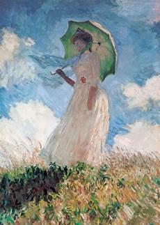 Le Frau Mit Schirm - la femme 224 l ombrelle by claude monet