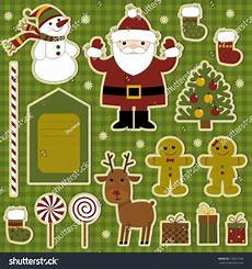 vector graphics collection of items for scrapbooking merry christmas ad sponsored