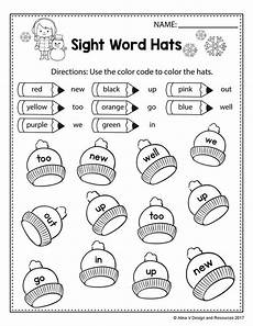 winter phonics worksheets for kindergarten 20143 free winter literacy worksheet for kindergarten no prep sight word coloring coloring pages