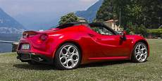 2017 Alfa Romeo 4c Spider News Reviews Msrp Ratings