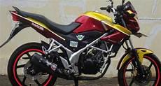 Modifikasi Motor Cb150r 2014 by Inspirasi Modifikasi Cb150r Pahlawan Simple Acre