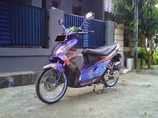Modifikasi Motor Skywave by Dunia Modifikasi Modifikasi Motor Suzuki Skywave Keren