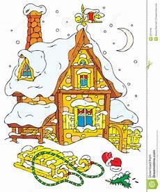 Malvorlagen Weihnachtsmann Haus Haus Weihnachtsmann Lizenzfreie Stockbilder Bild