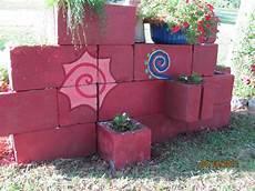 beton gartenmauer streichen more family and flowers cinder block saturday gardening