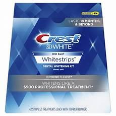 crest whitestrips supreme review crest 3d white whitestrips supreme flexfit teeth whitening