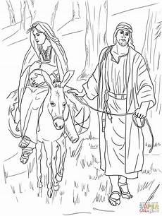 Weihnachtsmalvorlagen J Malvorlagen 16 And Joseph On The Road To Bethlehem
