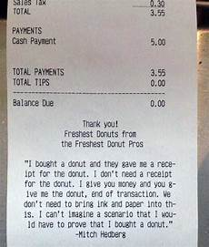 unexpectedly funny things spotted on receipts klyker com