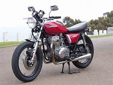 restored 1975 kawasaki customized cafe racer for sale on