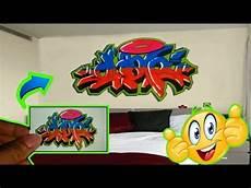 Gambar Grafiti Di Kamar Tidur Ar Production