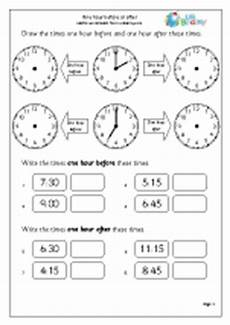 time worksheets earlier and later 2983 one hour before and after 1 time maths worksheets for year 1 age 5 6