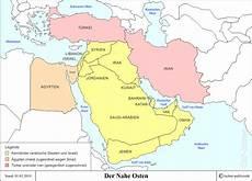Naher Osten Hintergrundinformation Politik Und