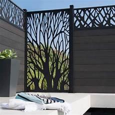 brise vue design jardin cl 244 ture de jardin design cloture jardin panneau brise