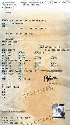 carte grise titre de transport ou titre de propri 233 t 233
