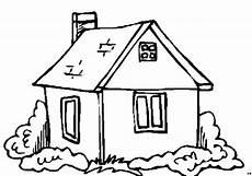 Gratis Malvorlagen Haus Kleines Haus Einfach Ausmalbild Malvorlage Nordisch