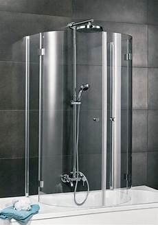 Badewannenaufsätze Zum Duschen - badewannenaufsatz 187 4 tlg 171 wannentiefe 700 mm