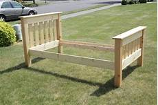 Bett Bauen Einfach - simple bed do it yourself home projects from