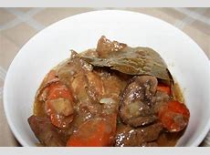 crock pot venison stew with bacon and mushrooms_image