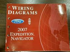 free car manuals to download 2007 ford expedition instrument cluster 2007 ford expedition lincoln navigator electrical wiring diagram manual ewd ebay