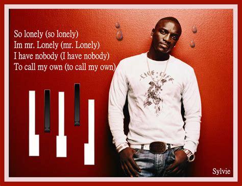 Akon Lonely Lyrics Video