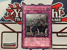 yu gi oh royal ultimate 1st edition tlm