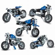 meccano 5 motos 224 construire jeu de construction
