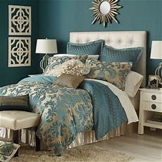 Teal White And Gold Bedroom Ideas by Calibri Jacquard Bedding Duvet Teal From Pier 1 Imports