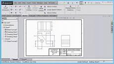 engr 6 saving solidworks drawing sheet format file youtube