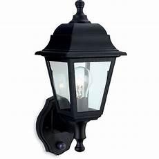 firstlight 8400bk oslo lantern uplight with pir