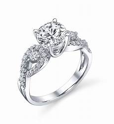 three stone infinity engagement ring indianapolis rings