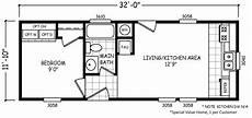 trailer house floor plans micro 12 x 32 379 sqft mobile home factory select homes