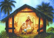 the nativity randy wollenmann religious card by