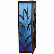 12 in solar coastal cattail lantern with blue light discontinued r239cclbx at the home depot