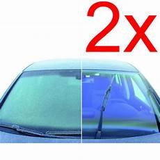 2 x auto anti fog spray demister window car defroster