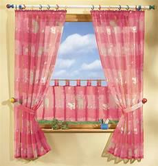 gardinen set kids 5 tlg gardinen set mit s 252 223 en tieren rosa ebay