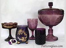 The Color Purple or Amethyst in Antique Glass   Peachridge